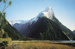 Grant McSherry Mitre Peak, Milford Sound painting